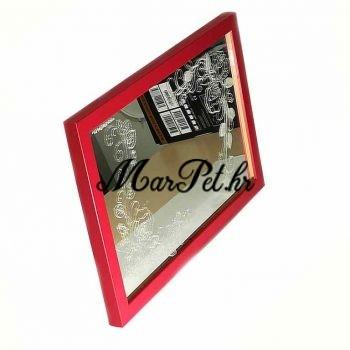 gravirano ogledalo