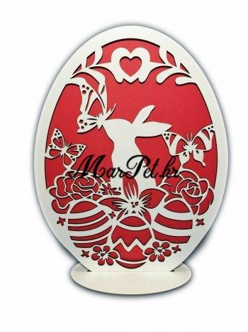 Veliko drveno jaje Uskrs